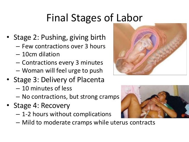 Stages and Phases of Labor: Early, Active and Transitional ...