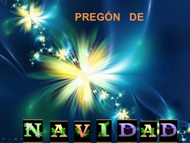 PREGÓN DE
