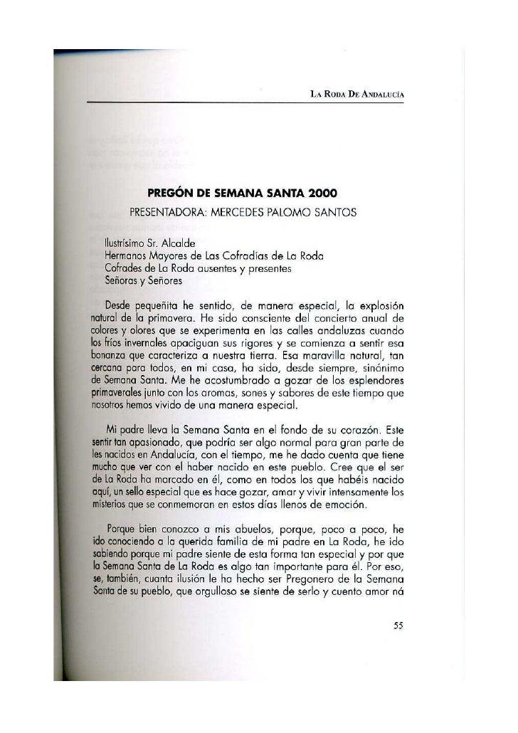Pregón 2000 BERNARDO PALOMO PACHÓN