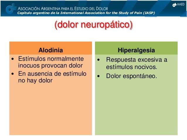 Dolor: Anatomía y Fisiología