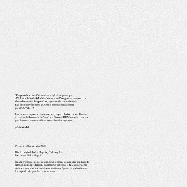 """""""Pregúntale a Lucia"""" es una idea original propuesta por el Voluntariado de Salud de Coahuila de Zaragoza en conjunto con e..."""