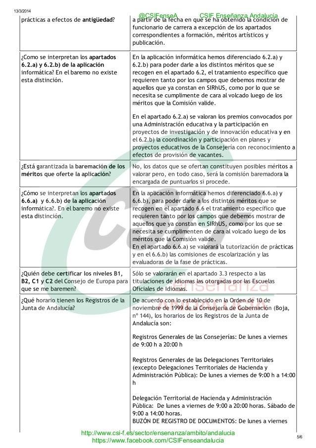 Preguntas y respuestas sobre la resoluci n provisional del for Concurso para maestros