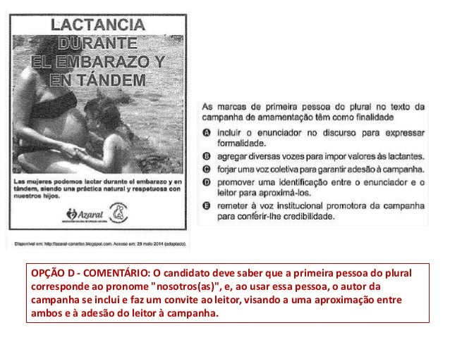 Preguntas de español en el ENEM 2014. Slide 3