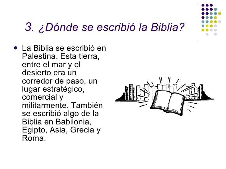 Introducci n a la biblia 02 for Cuando se creo la arquitectura