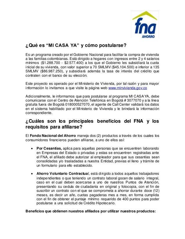 """¿Qué es """"MI CASA YA"""" y cómo postularse? Es un programa creado por el Gobierno Nacional para facilitar la compra de viviend..."""