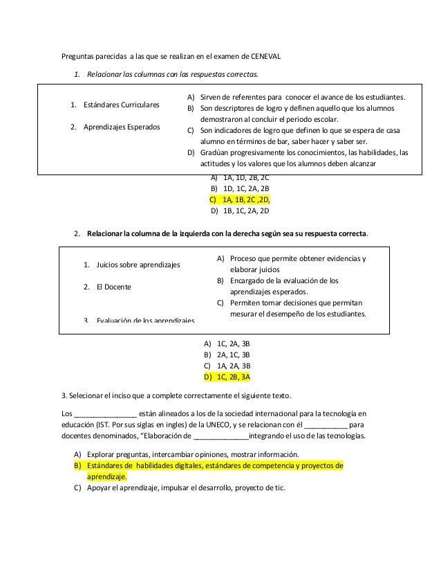 examen exani ii contestado gratis pdf
