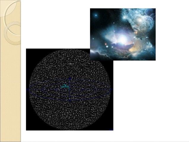 El Universo corresponde a toda la materia, energía y espacio existentes (incluido el vacio). Verdadero Verdadero La teoría...