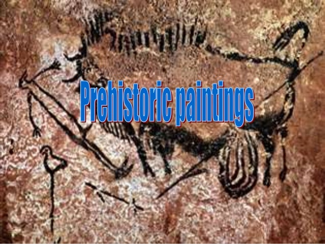 Prehistoric paintings – created in late Palaeolithic age, dated 40k years B.C. First paintings were discovered in XIX cent...