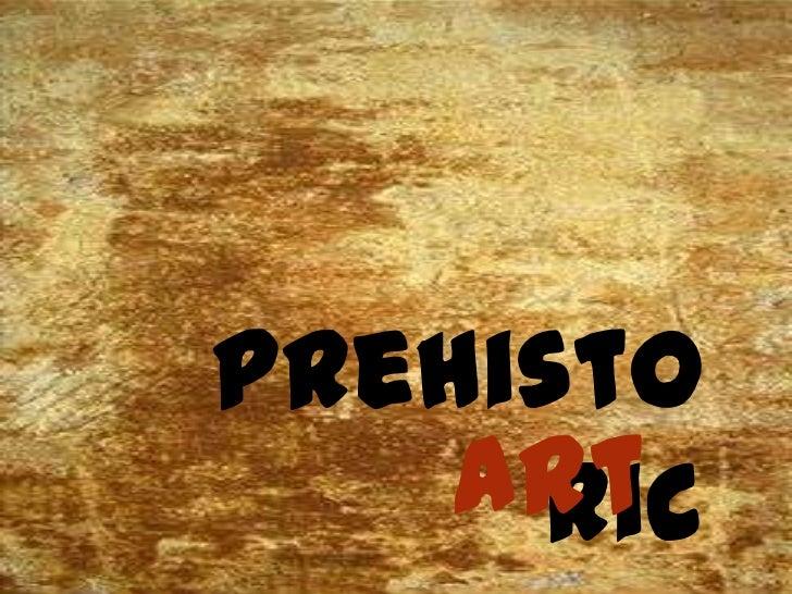 prehisto    art     ric