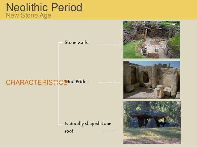 features of neolithic age
