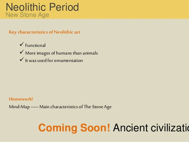 characteristics of neolithic period