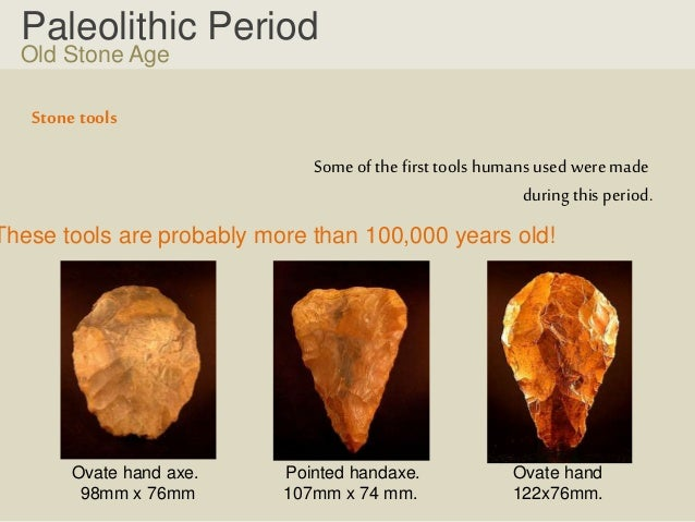palaeolithic age tools