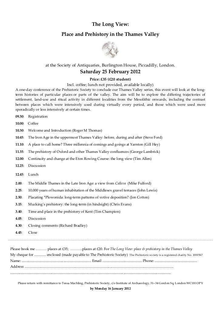 TheLongView:                                                            PlaceandPrehistoryintheThamesValley     ...