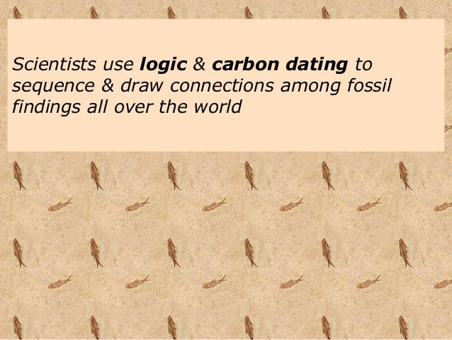 how to calculate the age of fossils due to carbon dating