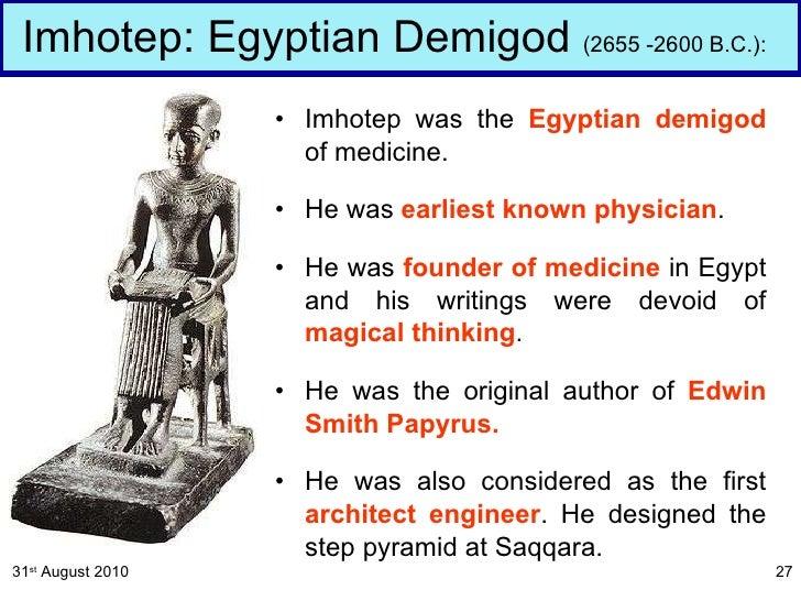 History of Medicine (Prehistoric_egyptian_greek)