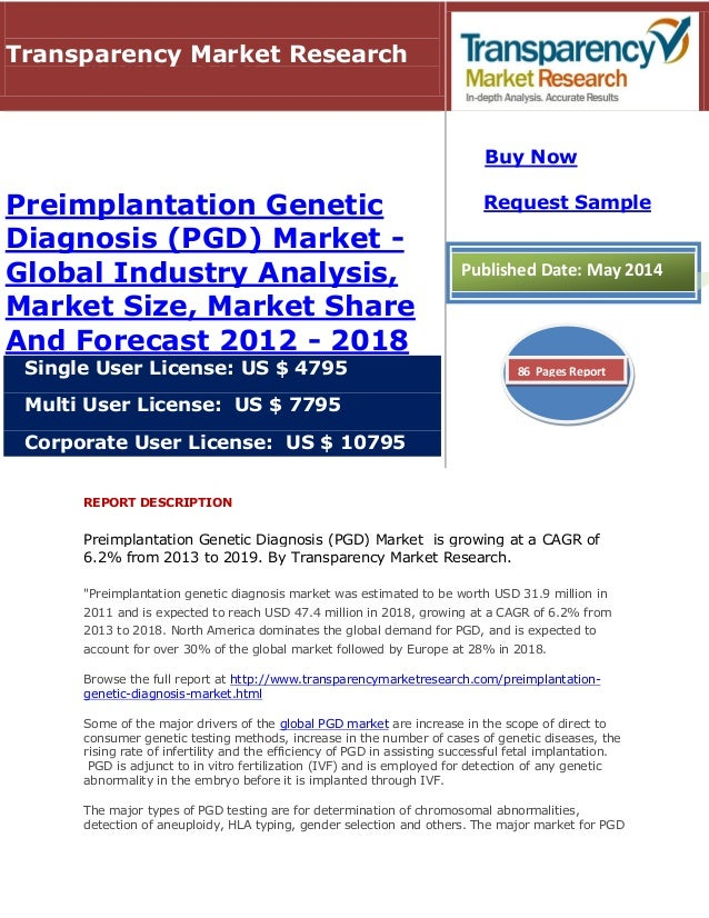 essays about preimplantation genetic diagnosis A key breakthrough in modern laboratory medicine, preimplantation genetic diagnosis (pgd) detects genetic abnormalities that cause birth defects or fatal illnesses, allowing embryos to be chosen before being implanted into a uterus, thereby avoiding selective pregnancy terminations.