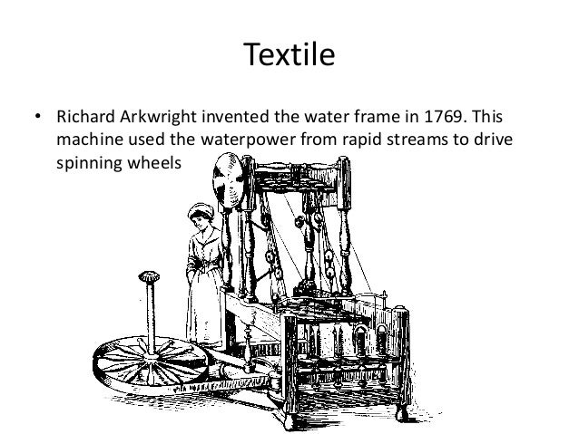Water Frame Invented By Richard Arkwright - Page 4 - Frame Design ...