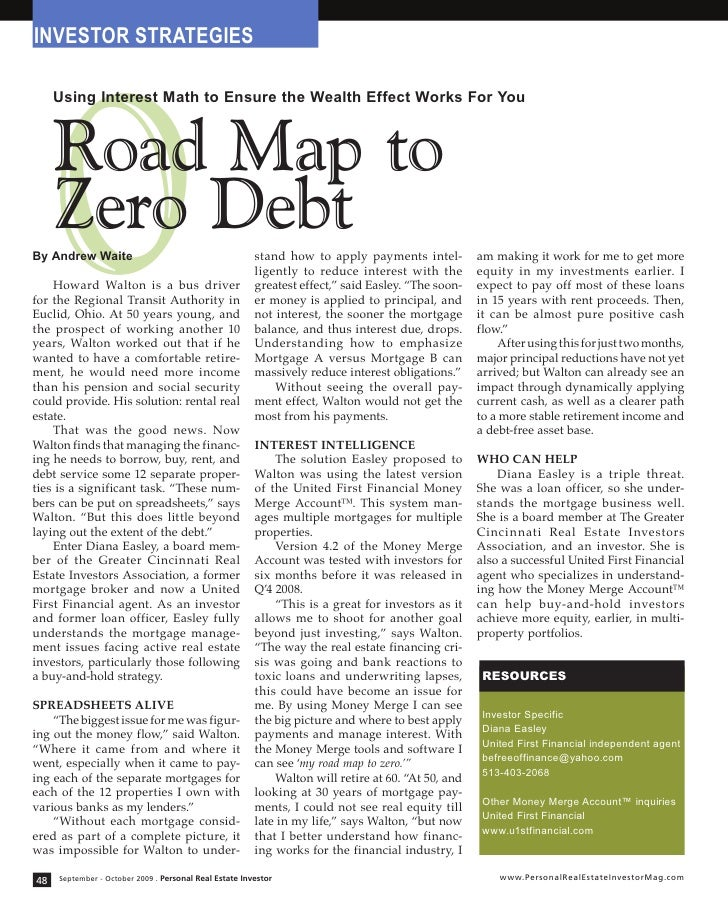INVESTOR STRATEGIES          0      Using Interest Math to Ensure the Wealth Effect Works For You         Road Map to     ...
