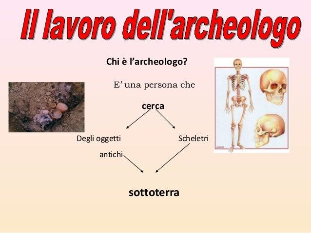 Risultati immagini per l'archeologo scuola primaria