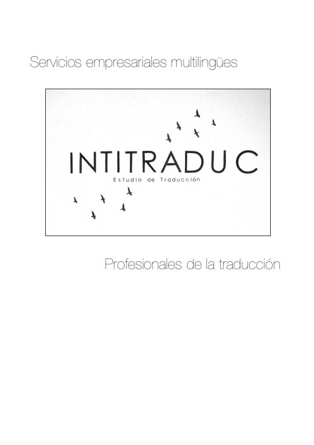 Servicios empresariales multilingües Profesionales de la traducción