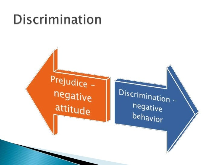 traditional values encourage prejudice and discrimination essay A fascinating overview of research on the psychology of prejudice and discrimination that traditional displays of prejudice and encourage dependence upon men.