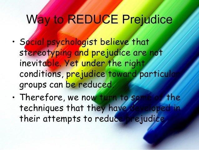 prejudice psychology