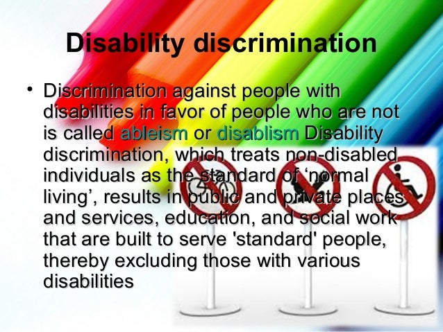 prejudice and discrimination 4 essay Prejudice and discrimination prejudice: 1) an opinion formed without careful thought2) an unreasonable or unfair feeling (in favour of, or against something.