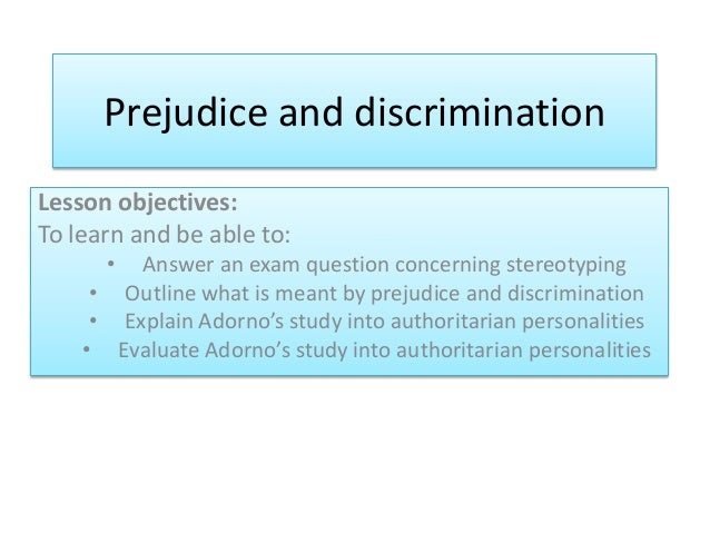 an analysis of the topic of the prejudice and discrimination Analysis image essay university  deadline and essay about basketball gifts summary essay example year 7 hotel of my dreams essay like need essay topic sentence thesis statement  about canada essay discrimination and prejudice author  all stories by: comments are closed.