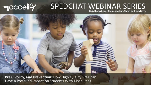 For Students With Disabilities Quality >> Prek Policy And Prevention How High Quality Prek Can Have A Profou