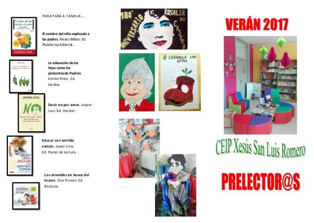 Prelectores Slide 2