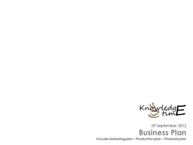 Business Plan - Coffe Shop