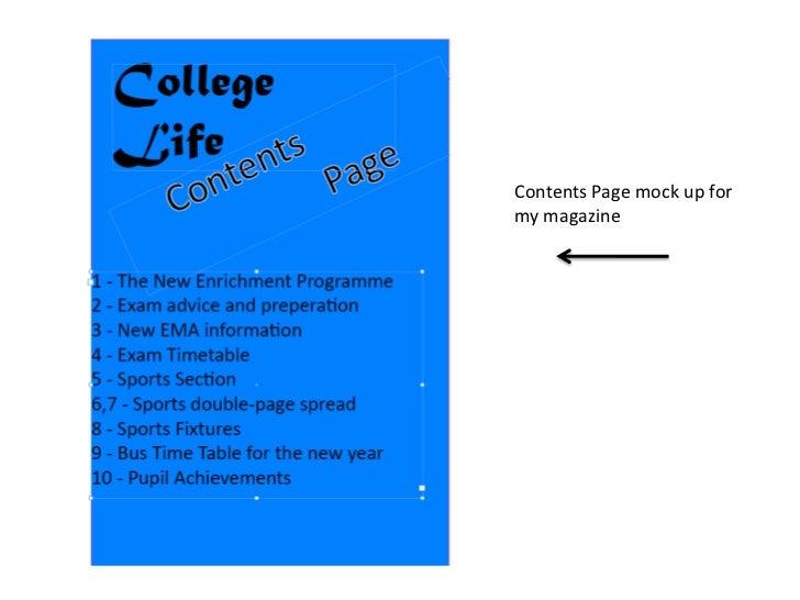 Prelimenary task Slide 2