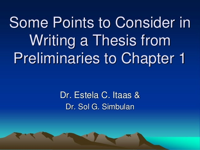 Dissertation Introduction & Help Writing Thesis Introduction Chapter
