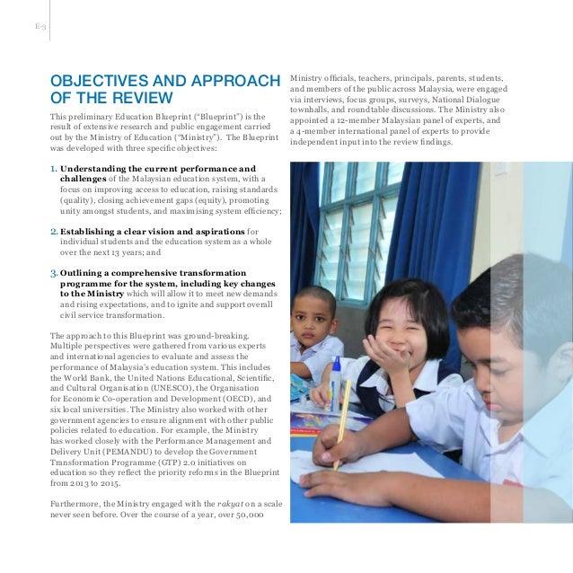 Malaysia education blueprint with 11 key shift towards 2025 6 malvernweather Image collections