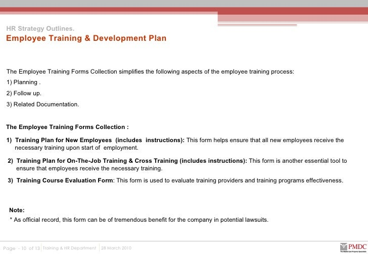 employee cross training template - preliminary hr proposal