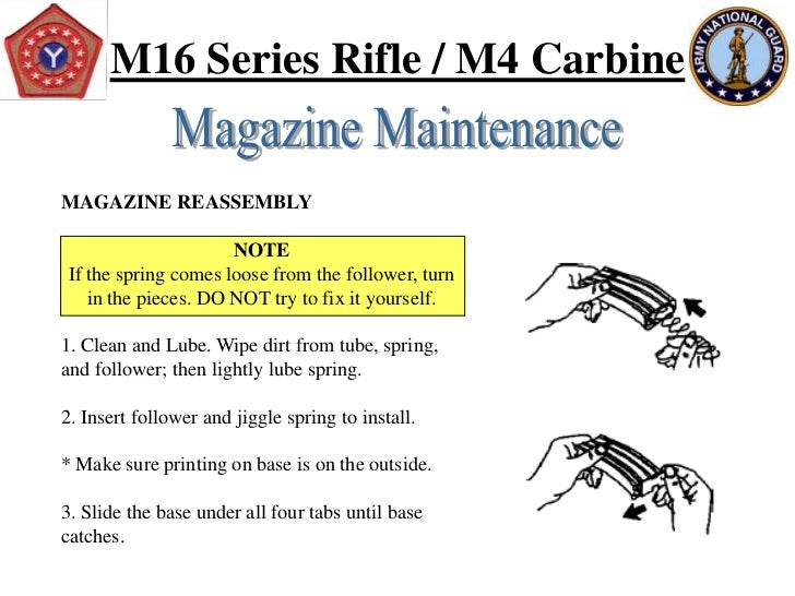 Preliminary Marksmanship Instruction