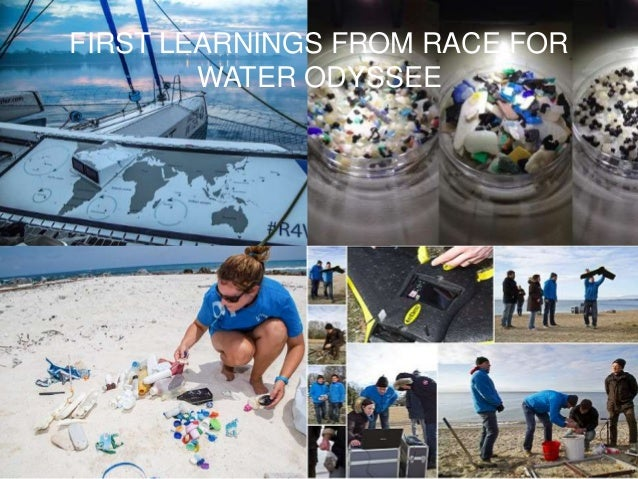 FIRST LEARNINGS FROM RACE FOR WATER ODYSSEE