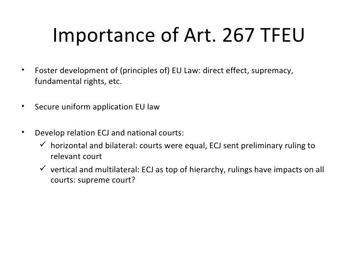 Article 267 tfeu essay help