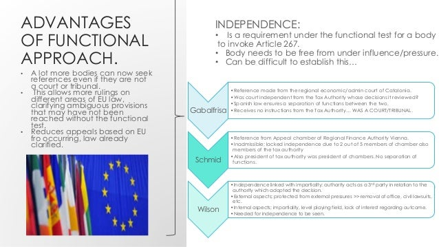 preliminary ruling eu law The preliminary reference procedure is used when a national court or tribunal refers a question of eu law to the european court of justice (ecj) for a preliminary ruling so as to enable the.