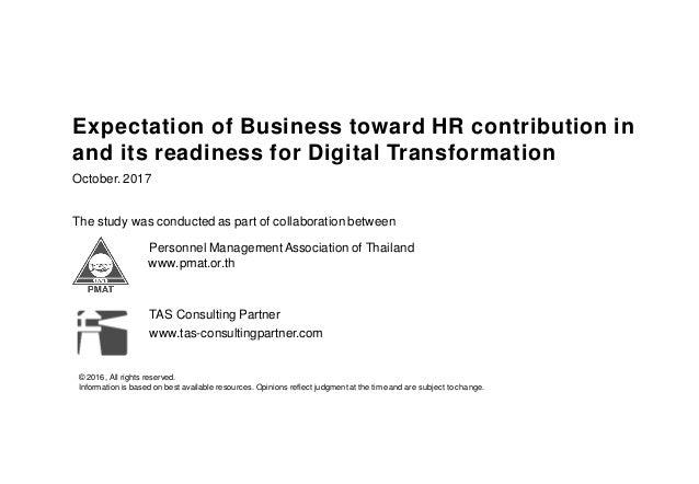 Preliminary survey report : Digital HR in Thailand Slide 2