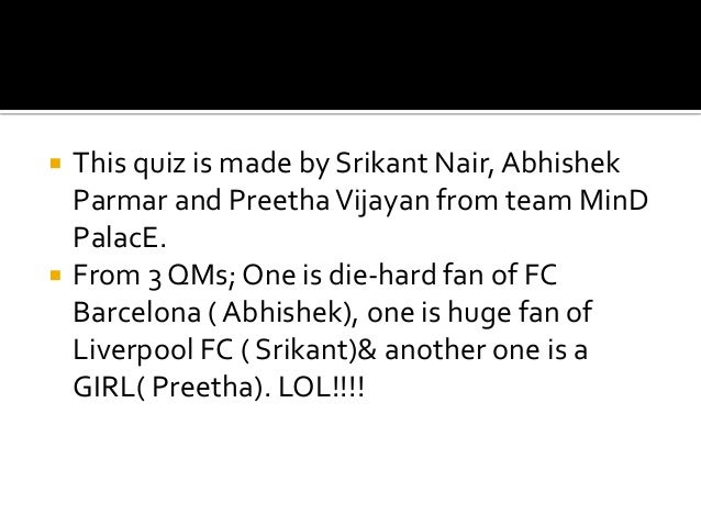 Kick off- Sports Quiz 2014 Prelims with answers Slide 2