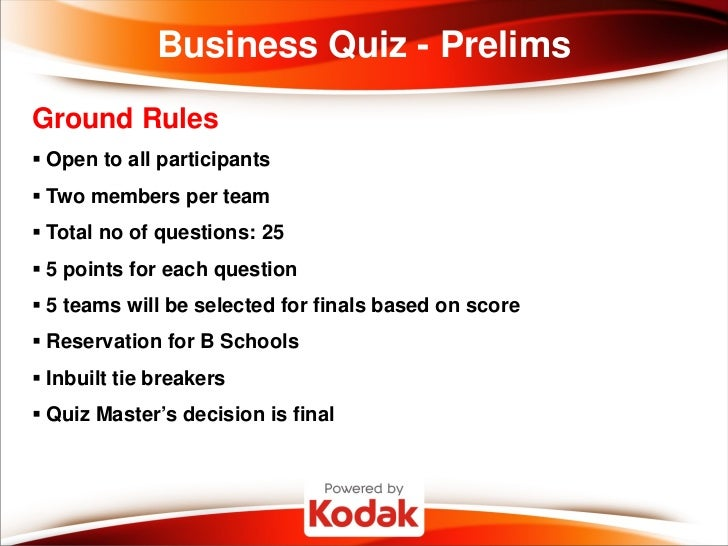 business quiz answer 2 Increase the energy level – fun, free and interactive  general knowledge 2   pick up the energy levels with this light-hearted business quiz that will make your .