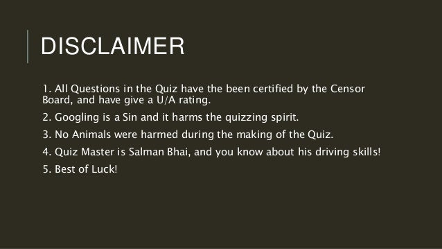 BOLLYWOOD QUIZ PRELIMS with ANSWERS 2017 Slide 3