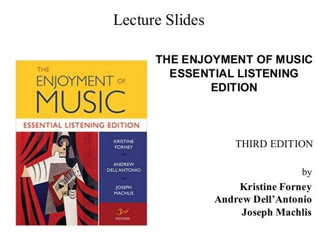 Prelude 2 Enjoyment Of Music 3rd Essential Listening Edition