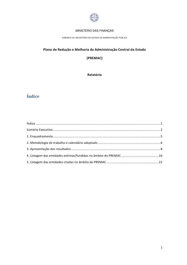 MINISTÉRIO DAS FINANÇAS                                       GABINETE DO SECRETÁRIO DE ESTADO DA ADMINISTRAÇÃO PÚBLICA   ...