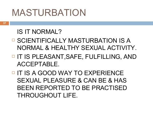 Masturbation techniques and