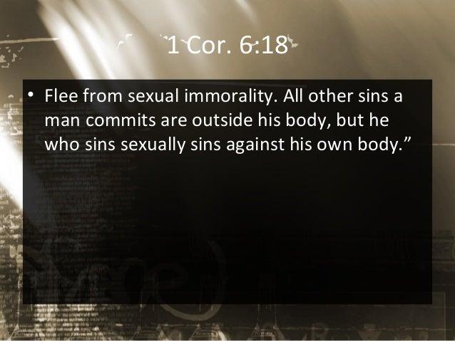Biblical basis against premarital sex