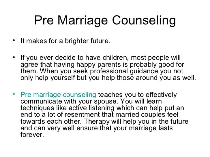 outline for premarital counseling Oak cliff bible fellowship is a 10,000 member bible-teaching church pastored by dr tony evans with a premarital counseling is designed premarital topics.