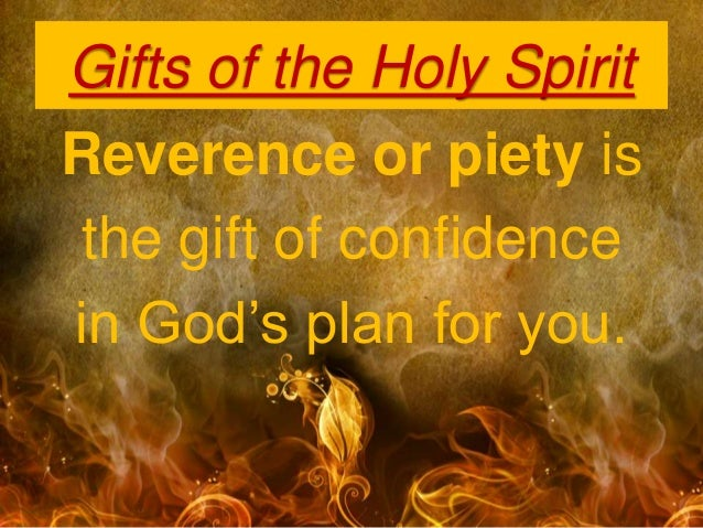 Pentecost: Gifts of the Holy Spirit