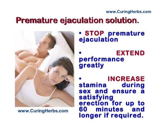 Tips to prevent ejaculation during sex